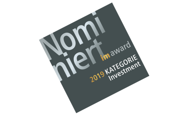 Domicil für immobilienmanager-Award 2019 nominiert